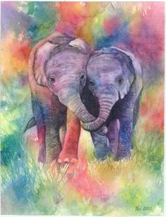 """Fine Art Giclee Watercolor Print """"Hold On"""""""