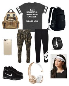 Athletic Arise Lovely outfits by cheriserayal on Polyvore featuring polyvore, fashion, style, Faith Connexion, NIKE, Burberry, Forever 21, Speck, Fitbit and clothing