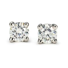 Tiffanys Diamond Earrings