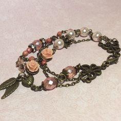 Romantische trendy bedelarmband Romantic bracelet