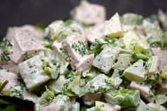 Paleo Eats: 1/29/12 (Whole30 Day 29) | Award-Winning Paleo Recipes | Nom Nom Paleo. Chicken salad
