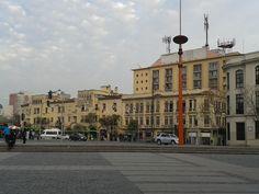 Vista desde la Estación Mapocho (Santiago Centro).
