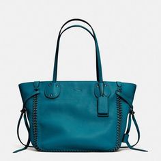 The Tatum Tote In Whiplash Leather from Coach by geneva