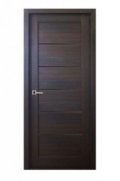 Mirella Modern Interior Door in a Palisander Finish