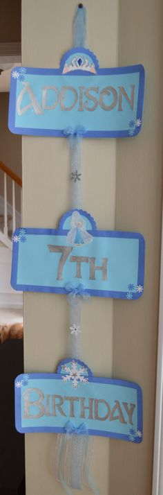 Hey, I found this really awesome Etsy listing at https://www.etsy.com/listing/185584426/frozen-elsa-anna-happy-birthday-party