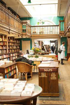 Here: Daunt Books. Best bookshop in London?