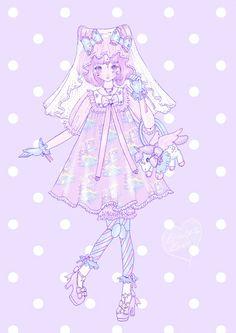 ユニコーン魔法のドレス