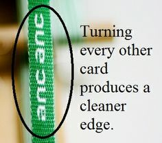 Great site for tablet weaving info, even if she's insane to be thinking of weaving labels for her products.