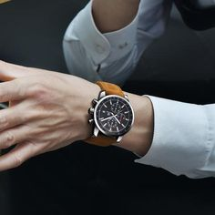 f4b835c7cab Relógio Masculino Benyar com Pulceira de Couro  moda  modamasculina   modasocial  acessórios