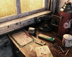Time We Cannot Go Back by lifei chen | Still Life | 3D | CGSociety