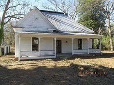 c. 1900 Folk Victorian - Greensboro, GA - $29,900 - Old House Dreams