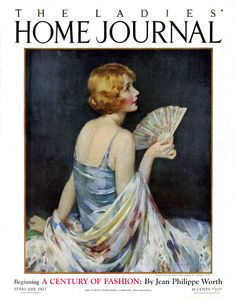 """""""Ladies' Home Journal"""" - February 1927 - Cover illustration by J. Knowles Hare"""