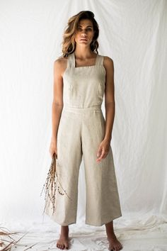VALENTINA JUMPSUIT - NATURAL