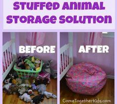 Kid's room organization ideas