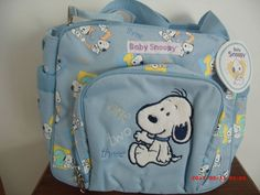 BABY SNOOPY BOYS DIAPER BOTTLE INSULATED COOLER BAG (ONE TWO THREE) DESIGN Baby Snoopy, First Second, Third Baby, North Face Backpack, Peanuts, Cute Babies, Diaper Bag, Bottle, Boys