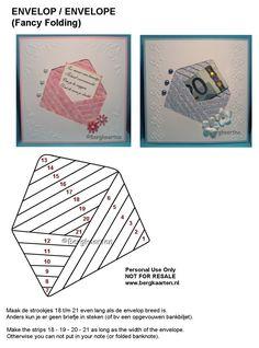 Irisvouwen: Envelop / Envelope