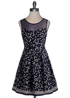 You can never rock too much polka dot.