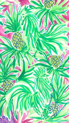 Lilly Pulitzer ★ Download more tropical iPhone Wallpapers at @prettywallpaper