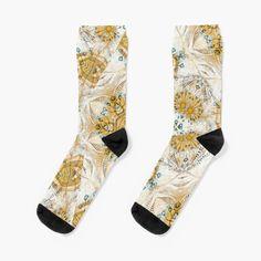 'Kaleidoscope, a symphony in yellow and aqua' Socks by Mimipinto Yellow Socks, Aqua Socks, Mercedes Benz 500, Gifts For Your Boyfriend, Tech Gifts, Street Fashion, Chiffon Tops, Street Style, Gift Ideas