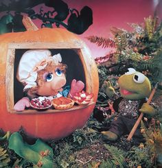 Muppets Babies getting ready for Autumn! Disney Pixar, Disney Magic, Sesame Street Muppets, Fraggle Rock, Muppet Babies, Marionette, Miss Piggy, Kermit The Frog, Jim Henson