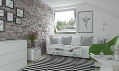 biała cegła w salonie - Szukaj w Google