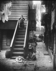 How the Other Half Lives: Studies Among the Tenements of New York by Jacob Riis. Late 19th cent.