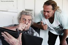 STEFANOS KORKOLIS & MIKIS THEODORAKIS  12/7/2013 Avant Premiere, News, Fictional Characters