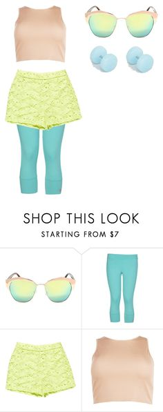 """""""pansexual pride"""" by nowherenenien on Polyvore featuring adidas, Ermanno Scervino, Boohoo and ASOS"""