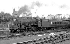 BR London Midland Region 45622 NYASALAND Steam Railway, Steam Engine, Steam Locomotive, Steamer, Locs, British, London, Dreads, England