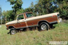 1976 Ford F 250 Highboy - Photo 61197587 - 1976 Ford Highboy - Backward Glances Classic Ford Trucks, Old Ford Trucks, Ford 4x4, Old Fords, Transfer Case, Cool Trucks, Antique Cars, Goat, Iron