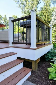 Simple Backyard Landscaping In Cool Deck Ideas At Modern House
