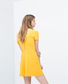 ZARA - COLLECTION SS15 - V-neck dress