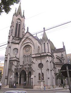 Catedral da cidade de Santos - Nossa Senhora do Rosário - São Paulo