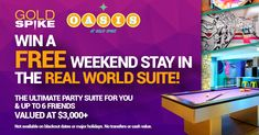 Win A Weekend Stay In The Real World Suite