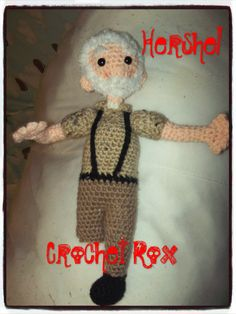 I finished Hershel and am going to try to make him some crutches. Michonne is next I think!!
