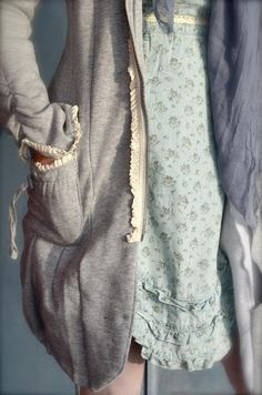 Layers and lacy trim...cuuutteee