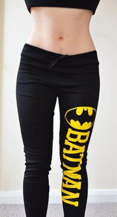 BATMAN COMIC schwarz super weich dehnbar Jersey von VixenObscure