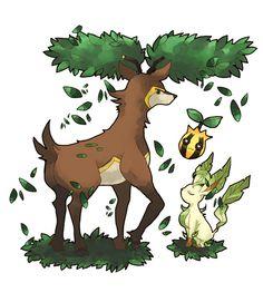 Sawsbuck and friends: Summer (Pokémon)