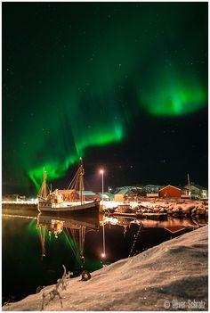 Aurora Boat. Norway.