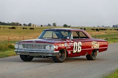 The Real cars of NASCAR... 1964 FORD Galaxie 427