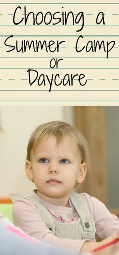 hoosing a Great Summer Camp or Daycare: What to Look For. Make sure to look for these things when choosing a childcare provider.| Nurture Her Nature