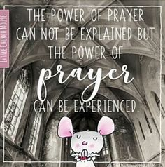 Little Church Mouse Comforting Scripture, God Is Amazing, Little Prayer, Love Thoughts, Uplifting Words, Attitude Of Gratitude, Life Words, Power Of Prayer, Motivational Words