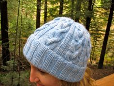 Hat most likely to Succeed by Alexandria Virgiel - free pattern on Ravelry