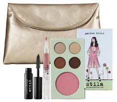 Garden Bliss Collection $32.00 (2011) Feel beautiful, both inside and out with stila's limited-edition garden bliss collection. Inspired by springtime garden parties and wild flowers in bloom, this all-inclusive set contains everything you need to emanate your natural beauty. The garden bliss collection is an assortment of beautiful, natural-looking makeup, including an attractive makeup clutch for easy touch-ups on-the-go. Available at Stila, ULTA, select Macy's.