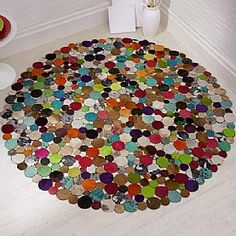 199 00 Circles Cowhide Rug Stunning In Multi Coloured Inspired By Wily