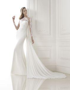 Pronovias Biombo, Pronovias 2017, wedding dress, bride, transparent dress, nude dress, свадебное платье, невесты, проновиас