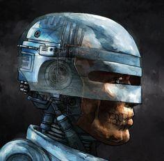 Resultado de imagen de robocop illustration
