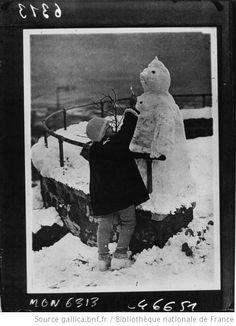 Les bonhommes de neige de Gallica
