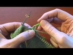 This is a video showing you how to work Japanese short-row shaping. I use this technique to shape sleeve caps in my top-down, set-in-sleeve knitting patterns...