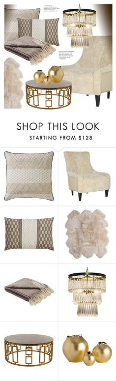 """""""Living Room Decor"""" by kathykuohome ❤ liked on Polyvore featuring interior, interiors, interior design, home, home decor, interior decorating, Sheridan, living room and livingroom"""